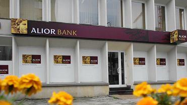 Placówka Alior Banku.