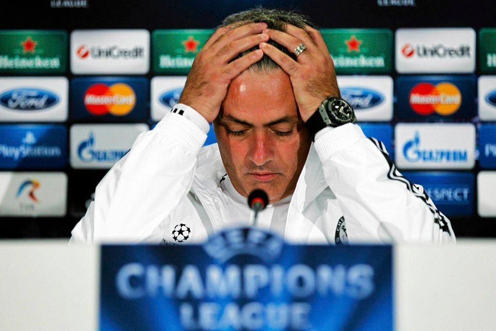 Jose Mourinho na konferencji przed meczem ze Steauą Bukareszt