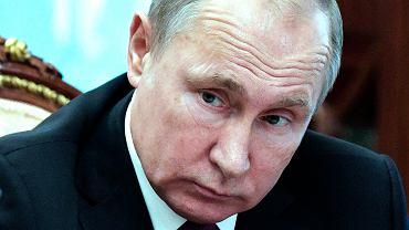 Prezydent Rosji Władimir Puitn