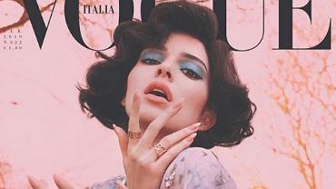 Kendall Jenner na okładce Vogue Italia