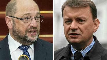 Szef Parlamentu Europejskiego krytykuje PiS. W odpowiedzi Błaszczak wypomina Niemcom II wojnę światową