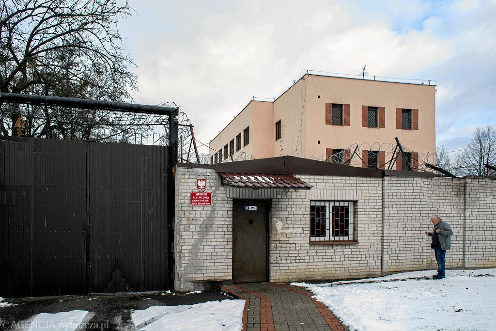 Schronisko dla nieletnich. Warszawa, ul. Lipowczana, 29 stycznia 2019