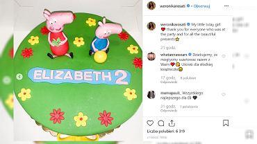 Weronika Rosati wyprawiła przyjęcie urodzinowe córce