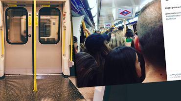 Madryt ma swój sposób na tłok w metrze. 'Upychacze' wcisną każdego pasażera do wagonu metra