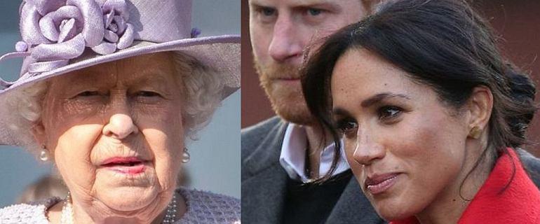 Królowa Elżbieta II wystosowała oświadczenie. Harry i Meghan stracili książęce tytuły