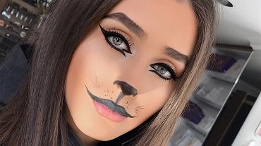 Makijaż kota
