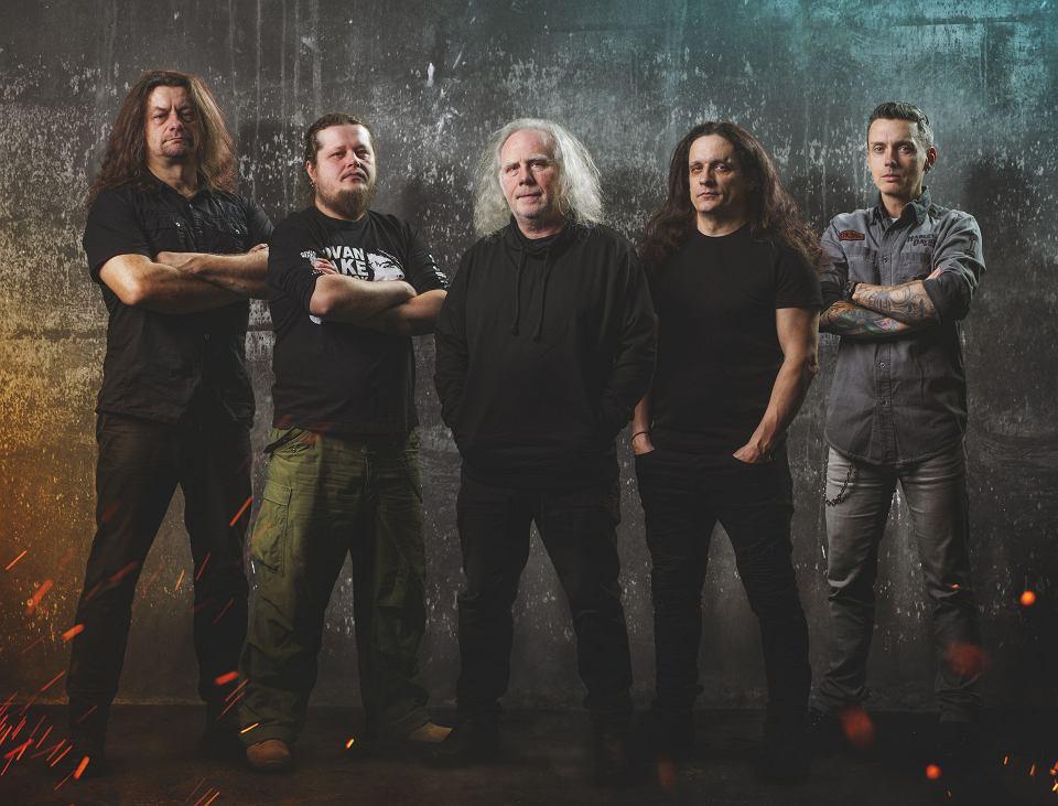 Kat & Roman Kostrzewski: od lewej: Krzysztof 'Pistolet' Pistelok, Jacek Hiro, Roman Kostrzewski, Michał Laksa i Jacek Nowak