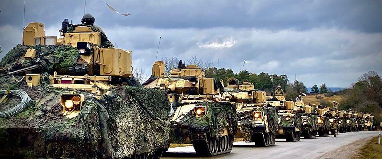 Wielkie siły wojska USA ruszają do Europy