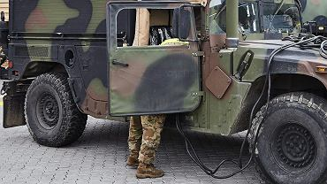Do wypadku wozów US Army doszło na trasie A18