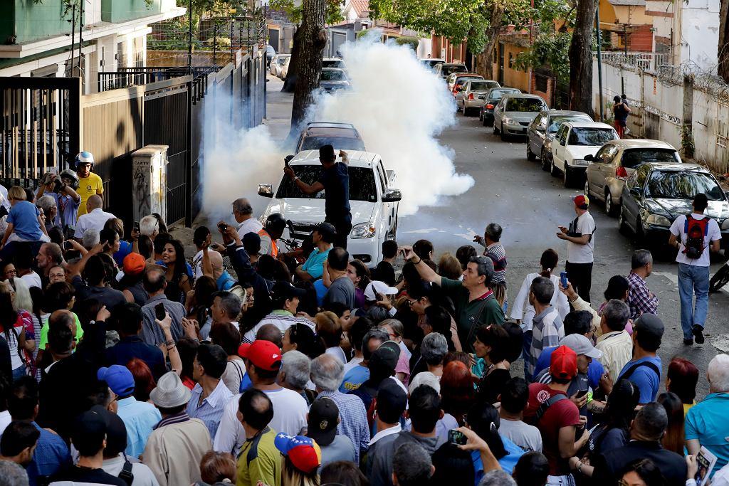 Wenezuela. Protest przeciwko Nicolasowi Maduro
