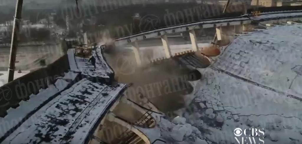W Rosji zawalił się stadion