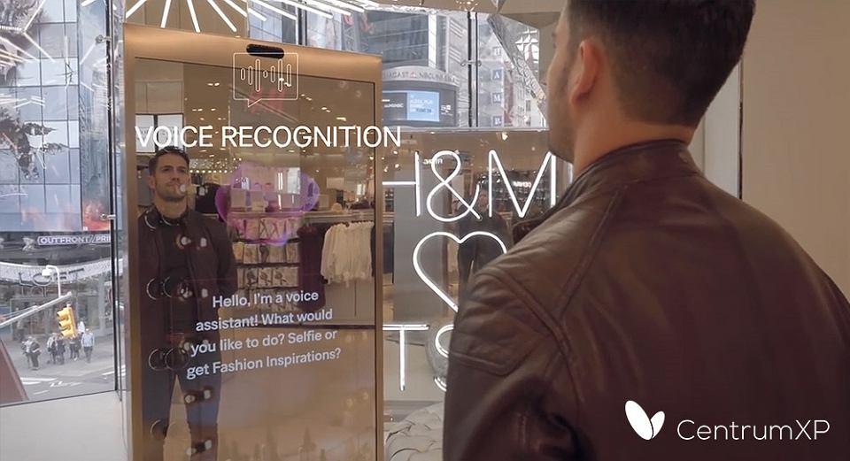 H&M Voice Interactive Mirror