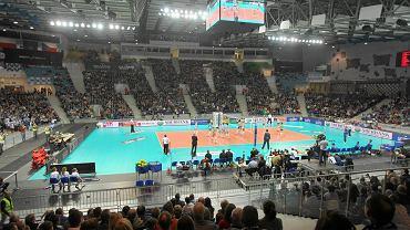 Azoty Arena podczas meczu Chemika z Agelem Prościejów