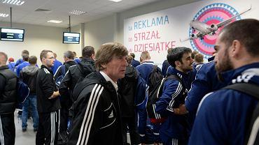 Śląskie drużyny w Pyrzowicach przed odlotem na zgrupowanie do Turcji