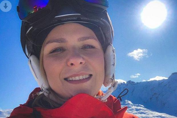 Aneta Zając wybrała się na narty ze swoimi pociechami. W poszukiwaniu śniegu rodzina udała się aż w Alpy!