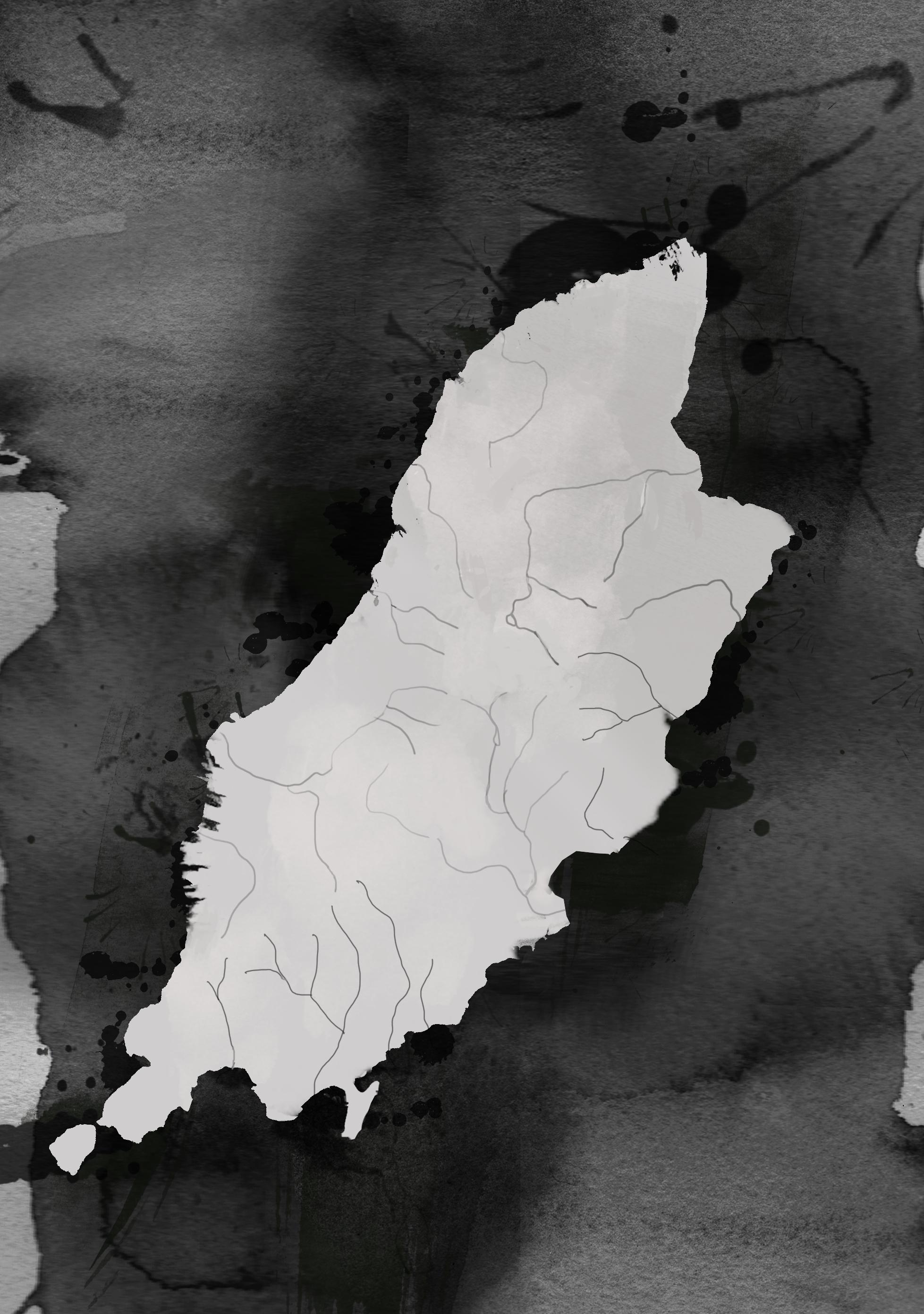 Wyspa man (fot. ilustracja z książki 'Gdziekolwiek mnie rzucisz. Wyspa Man i Polacy')