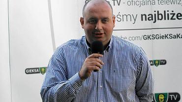 Prezes klubu Wojciech Cygan