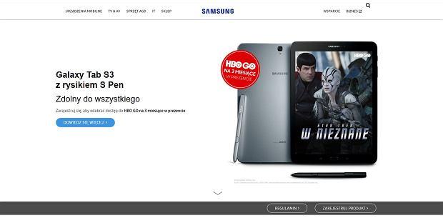 Samsung oferuje darmowy dostęp do HBO GO