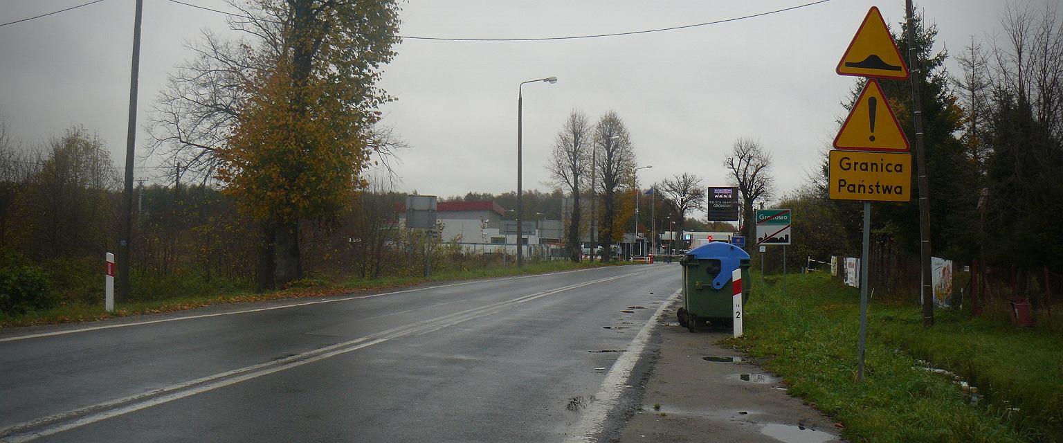 Granica polsko-rosyjska w Gronowie (fot. Mariusz Sepioło)