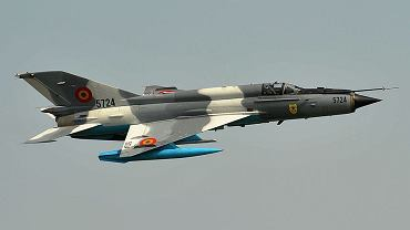 Katastrofa MiG-21. Rozbił się w Rumunii