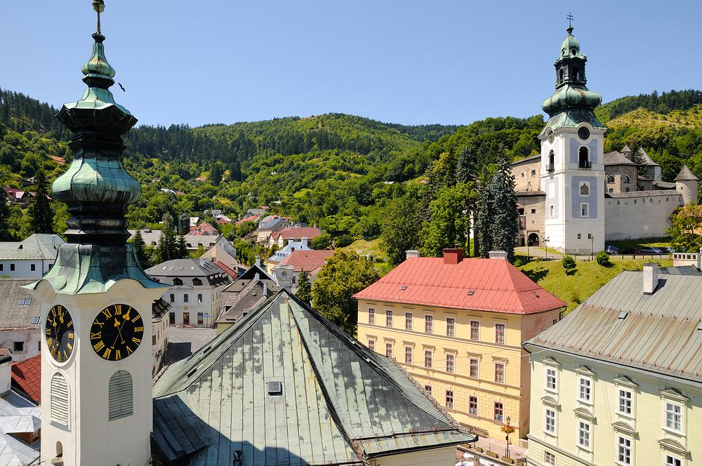 Słowacja. Bańska Szczawnica