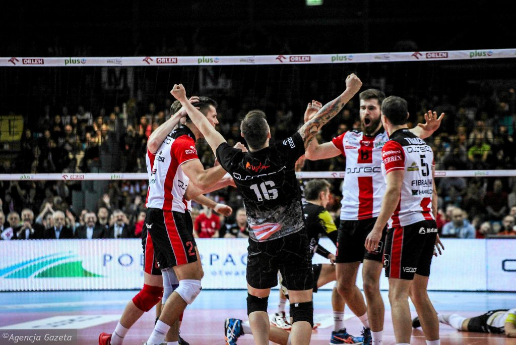 Asseco Resovia Rzeszów na drodze GKS-u Katowice w finale PP