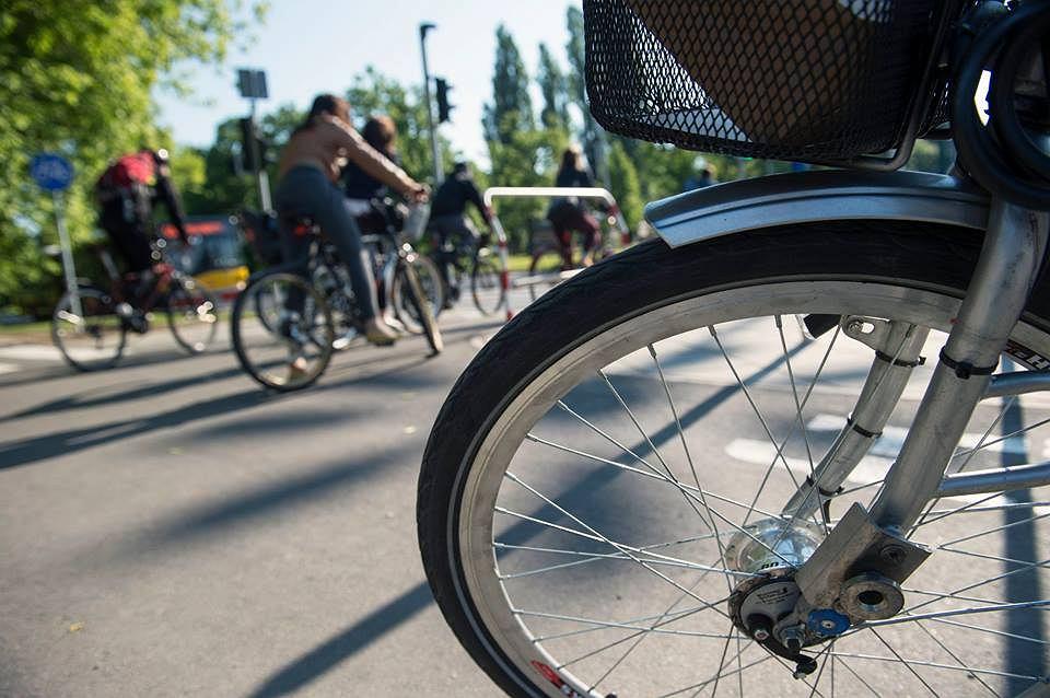 Powstaną nowe ścieżki rowerowe! W Parku Praskim od