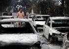 Pożary szaleją w Grecji. Ludzie ewakuowani z plaż. Skokowo rośnie bilans ofiar śmiertelnych