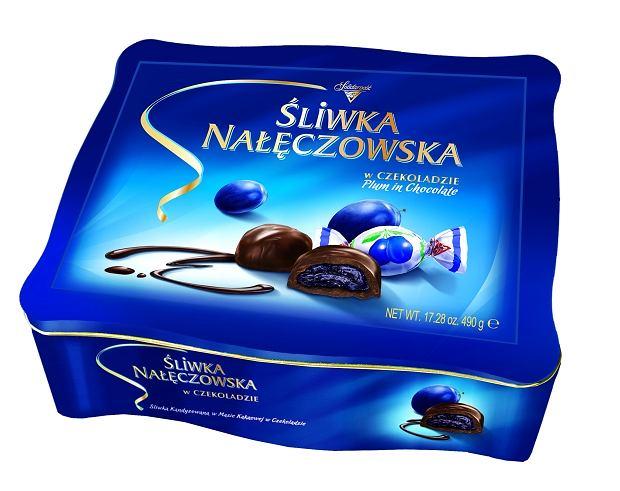 Śliwka Nałęczowska - metalowa puszka 490g