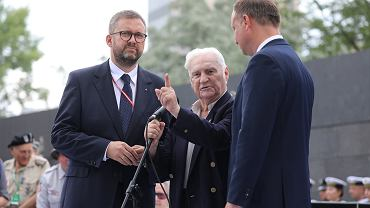 Spotkanie Powstańców Warszawskich z prezydentem RP Andrzejem Dudą