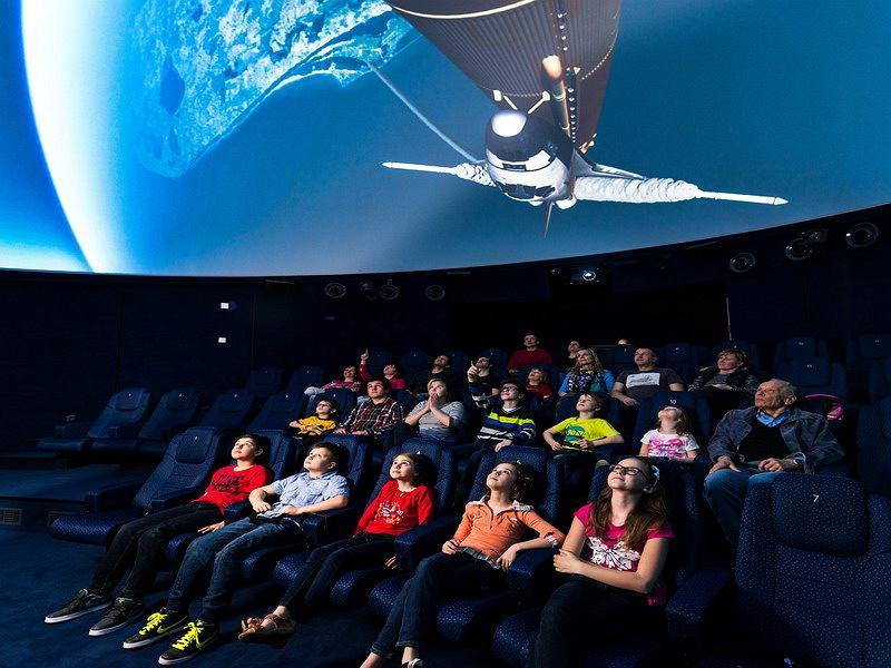 Planetarium Centrum nauki IQLANDIA Libercu w Czechach