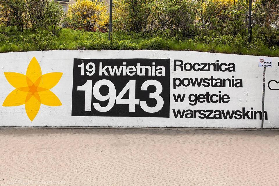 Zdjęcie numer 16 w galerii - Rocznica powstania w getcie warszawskim. Żonkil oznacza pamięć