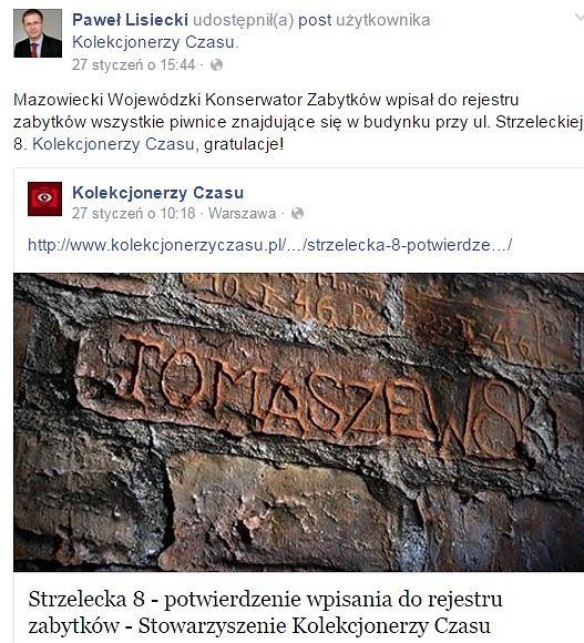 Facebook / Paweł Lisiecki