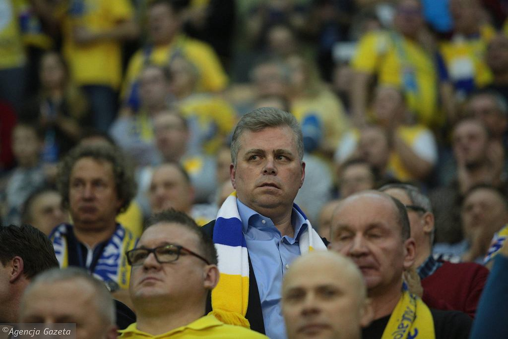 Bertus Servaas podczas meczu PGE Vive Kielce - PSG
