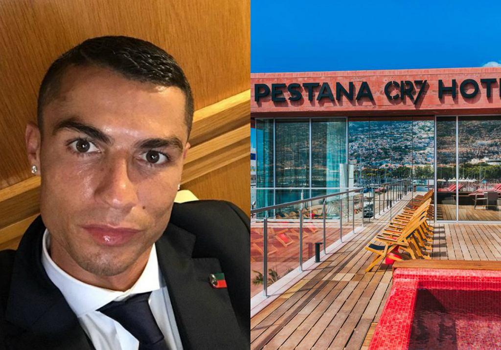 Cristiano Ronaldo promuje swoje hotele. Ile kosztuje noc w hotelu Portugalczyka?