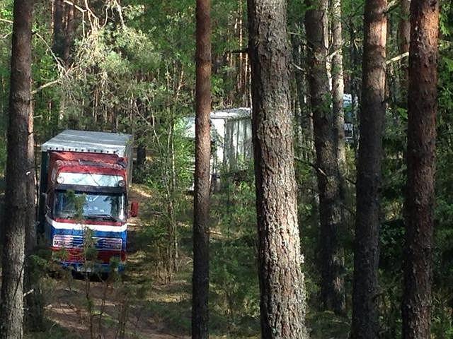 Rosja. Tony polskich jabłek przejęte przez celników. Ciężarówki jechały leśnymi drogami