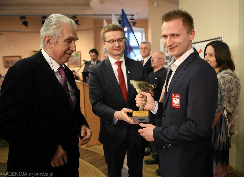 Częstochowa, ratusz, 5 lutego 2016. Finał Plebiscytu na Najpopularniejszego Sportowca Częstochowy i Regionu w 2015 roku