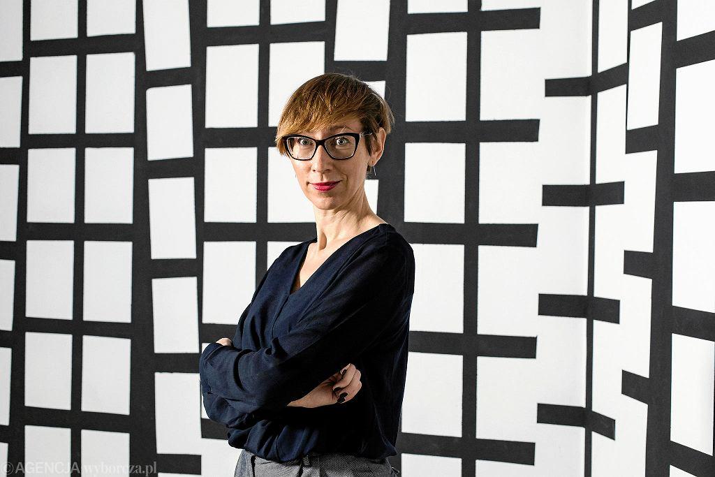 Małgorzata Ludwisiak, dyrektorka CSW Zamek Ujazdowski