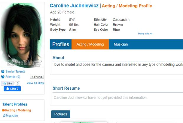Caroline z 'Love Island'