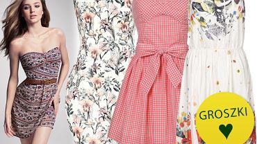 Na upały: sukienki bez ramiączek