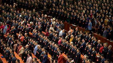 Chiny. Zakończenie sesji parlamentu, 15 marca 2019 r.