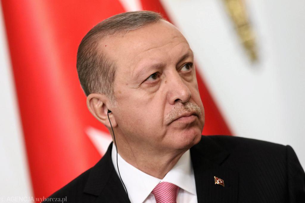 Prezydent Turcji Recep Erdogan w Polsce