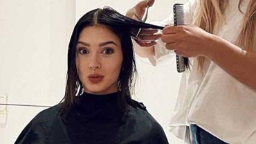 Klaudia Halejcio ścięła włosy