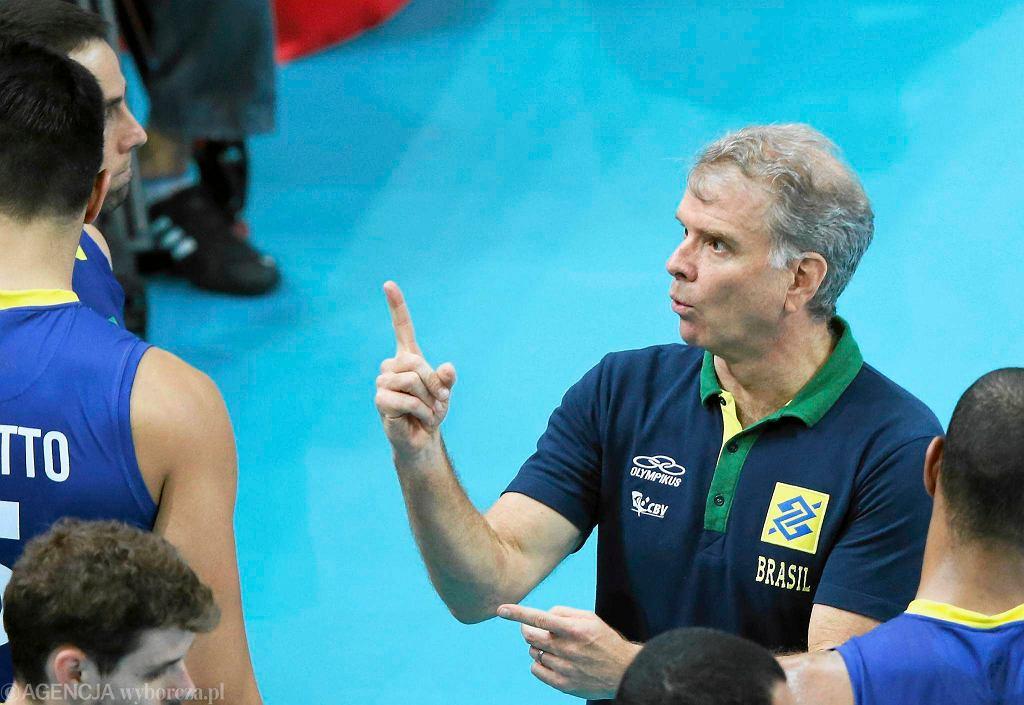 Trener Brazylii Bernardo Rezende