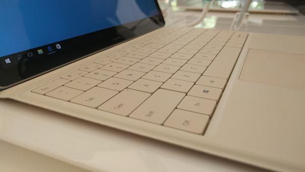 Dołączana do Huawei MateBook klawiatura z etui Huawei MateBook Portfolio