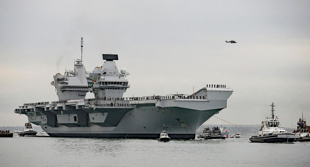 Superlotniskowiec HMS Queen Elizabeth