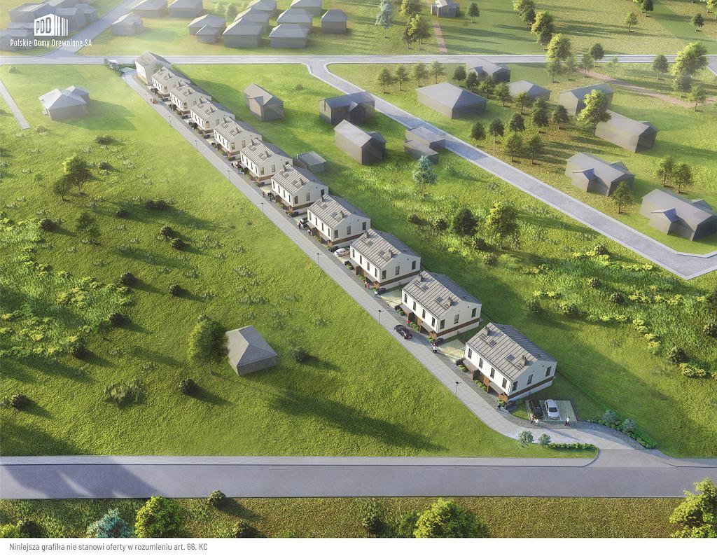 Wizualizacja domów w Choroszczy