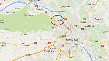 Do napadu doszło w Łomiankach pod Warszawą