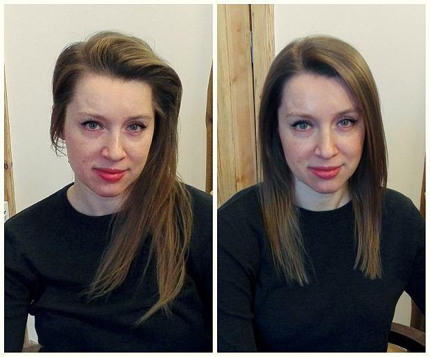 Ola - boryka się z problem wypadających włosów