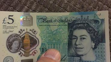 Nowe banknoty w Wielkiej Brytanii